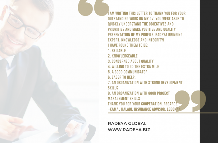 Insurance strategy consultant profile