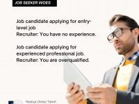 Conflicts responses job seekers get at different stages in their careers